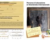 Percorso di educazione al Volontariato Internazionale 2018