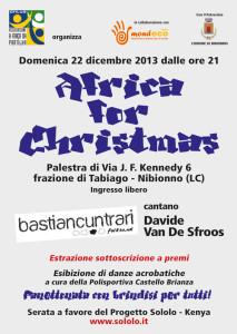 Volantino Africa For Cristmas 2013