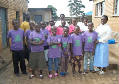 I ragazzi di Mugombwa