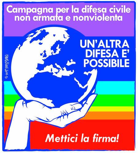 Mondeco Onlus aderisce alla Campagna per la difesa civile non armata e nonviolenta