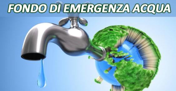 Mondeco Onlus - Fondo di emergenza acqua - l'acqua della sciura Maria